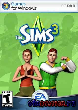 Скачать The Sims 3: 3 in 1 (PC/RUS/3in1) бесплатно
