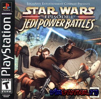 Скачать Star Wars Episode I - Jedi Power Battles (PSX/ENG/2000) бесплатно