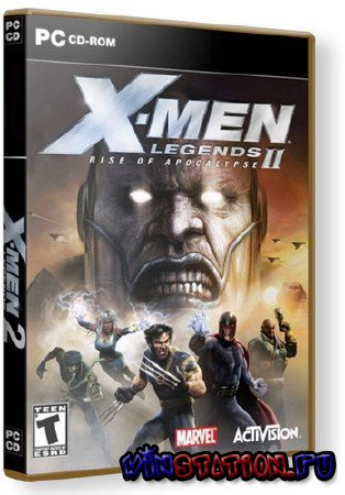 Скачать X-Men Legends 2: Rise of Apocalypse (PC/RUS) бесплатно