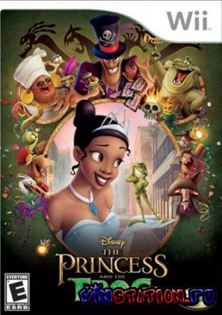 The Princess and the Frog (Wii/RUS)