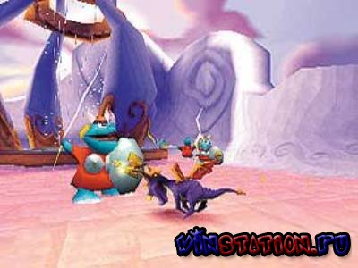 Spyro 3: Year of the dragon (PSX/RUS/2000)