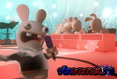 Rayman Raving Rabbids: TV Party (Wii)