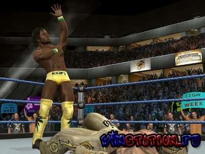 —качать WWE SmackDown vs. Raw 2010 (PS2/RUS/2009) бесплатно