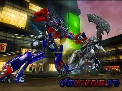 ������� ���� ������������: ����� ������/Transformers: Revenge of the Fallen (PS2/ENG/2009)