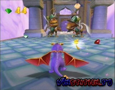 Spyro: Enter the Dragonfly (PS2/RUS/2002)