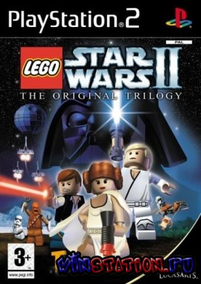 Lego Star Wars 2: The Original Trilogy (PS2/RUS/ENG/2006)