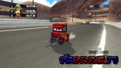 Cars: Race-O-Rama (PS2/RUS/2009)