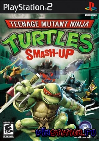 Teenage Mutant Ninja Turtles: Smash-Up (PS2)