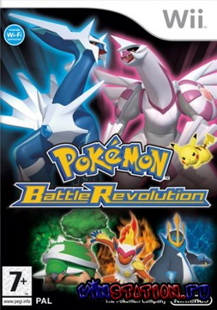 —качать Pokemon Battle Revolution (Wii) бесплатно