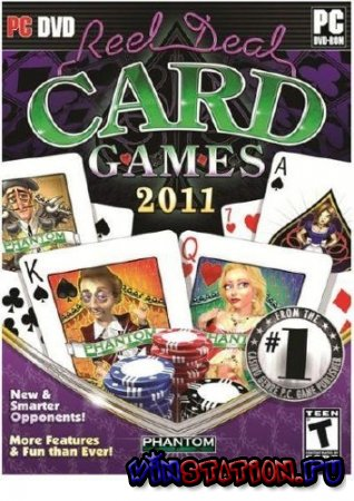 Reel Deal Card Games 2011 (PC)