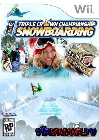 Triple Crown Championship Snowboarding (Wii)
