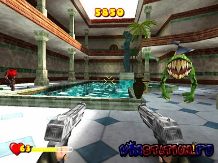 Serious Sam: Next Encounter (PS2)
