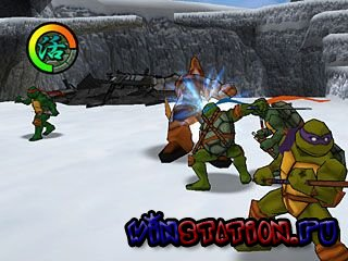 Teenage Mutant Ninja Turtles 2: Battle Nexus (PS2)