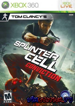—качать Tom Clancy`s Splinter Cell: Conviction (XBOX360) бесплатно