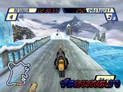 Sled Storm (PSX/RUS)