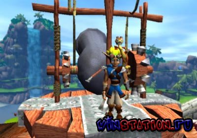 Jak and Daxter: The Precursor Legacy (PS2/RUS)