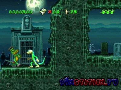 Gex: 3 in 1 (PSX/RUS)