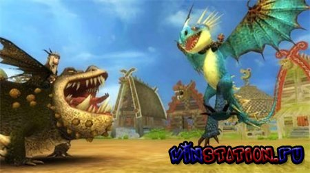 Скачать How to Train Your Dragon (Wii) бесплатно