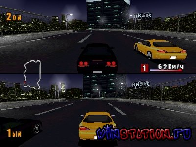 —качать игру Option Tuning Car Battle 2000 Special Edition (PSX/RUS)