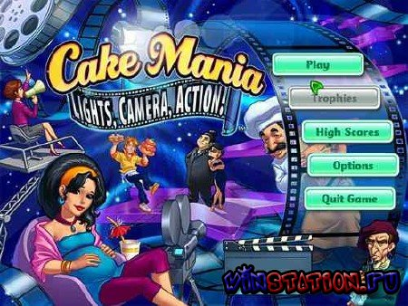 Cake Mania 5: Lights, Camera, Action! (PC)