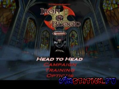 Скачать игру Iron and Blood: Warriors of Ravenloft (PSX/ENG)