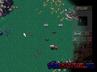 Command & Conquer: Red Alert Retaliation (PSX/RUS)