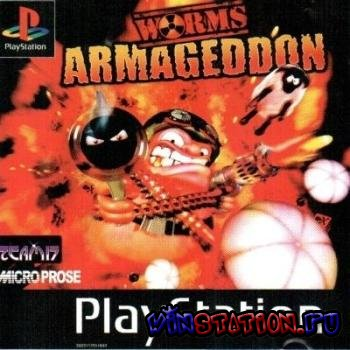 Скачать игру Worms Armageddon (PSX/RUS)