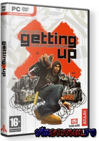 Marc Ecko's Getting Up: Contents Under Pressure (2006/RUS/RePack by UltraISO)
