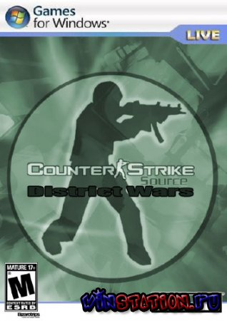 Скачать Counter Strike Sourсe District Wars (PC/RUS) бесплатно