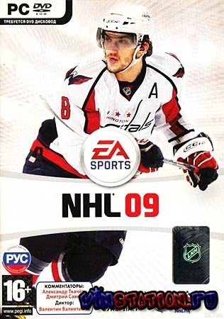 Скачать NHL 09 (PC/RUS/RePack) бесплатно