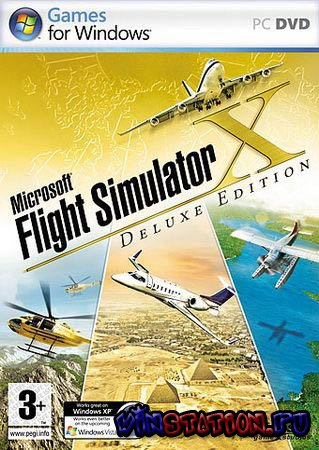 Скачать Microsoft Flight Simulator X (Deluxe Edition) Ru бесплатно