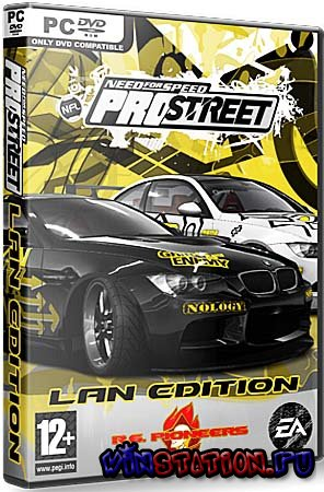 ������� Need For Speed ProStreet Lan Edition (PC/RePack/RU) ���������