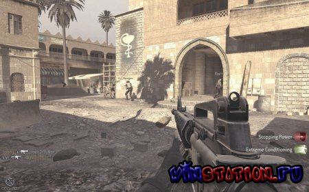 Call of Duty 4: Modern Warfare [v.1.7.5+200 карт] (2010/RUS/RePack by MITHTIX)