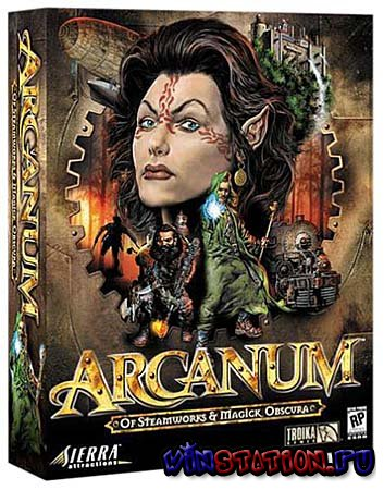 Скачать Arcanum: Of Steamworks and Magick Obscura (PC/RU) бесплатно