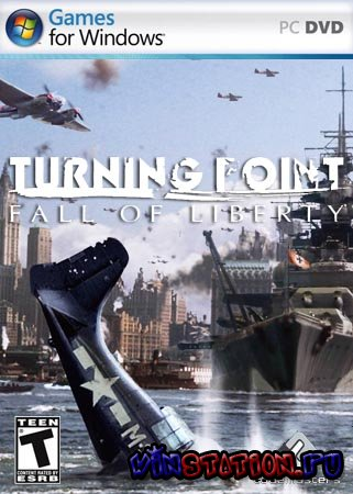 Скачать Turning Point - Fall of Liberty (PC/Full Version/RePack/RUS) бесплатно