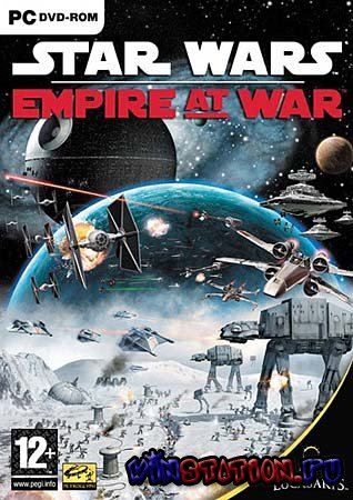 Скачать Star Wars Empire at War - Galactic Conquest (PC/RUS) бесплатно