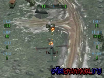 Soviet Strike / RUS / Flying Simulator / 1997 / PSX-PSP