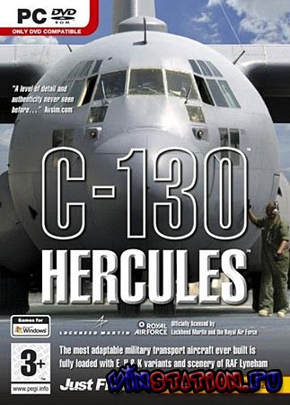 Скачать Microsoft Flight Simulator: Just Flight C130 Hercules + патч FS9.1 бесплатно