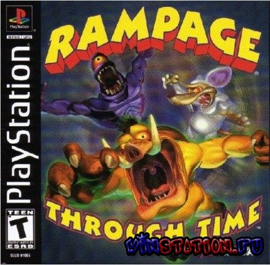 Скачать Rampage Through Time (PSX) бесплатно
