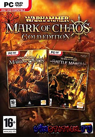Warhammer: Mark of Chaos - Gold Edition 2.14 (PC/RePack/RU Audio)
