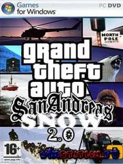 GTA IV (Snow mod 2.0) / Grand Theft Auto IV (PC/2010/RU)
