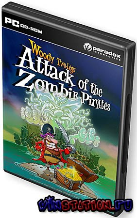 Скачать Woody Two Legs Attack of the Zombie Pirates (PC/2010/EN) бесплатно