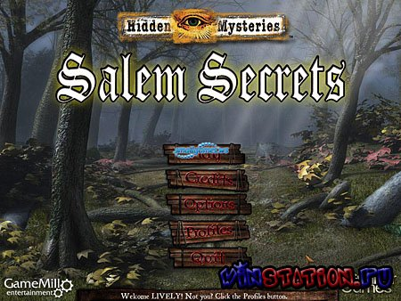 Скачать Hidden Mysteries Salem Secrets / Секреты Салема (PC/RUS) бесплатно