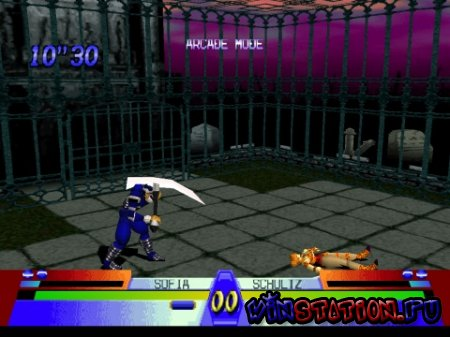 —качать игру Battle Arena Toshinden 3 (PSX)