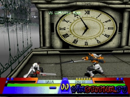 Скачать игру Battle Arena Toshinden 3 (PSX)