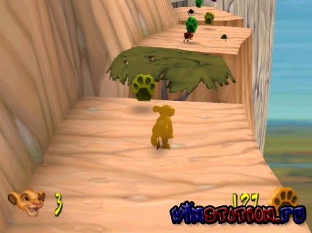 —качать игру Disney's The Lion King - Simba's Mighty Adventure (PSX/RUS) бесплатно