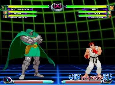 —качать игру Marvel vs. Capcom 2 (Dreamcast/ENG)