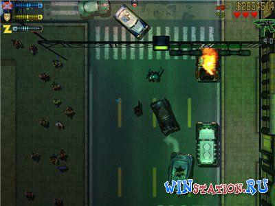 Скачать игру Grand Theft Auto 2 (Dreamcast/RUS)