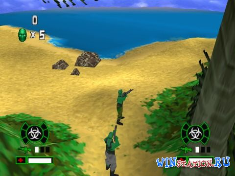 —качать игру Army Men: Green Rogue (PSX/RUS)