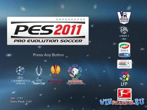PES2011 unreal patch v.3.0 (PC/RUS)